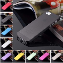 Hot Sale Matte Transparent Ultra-thin Mobile Phone Bags Case For iPhone 4 4S 5 5S 5c SE 6 6s 6plus Protective Back Cover