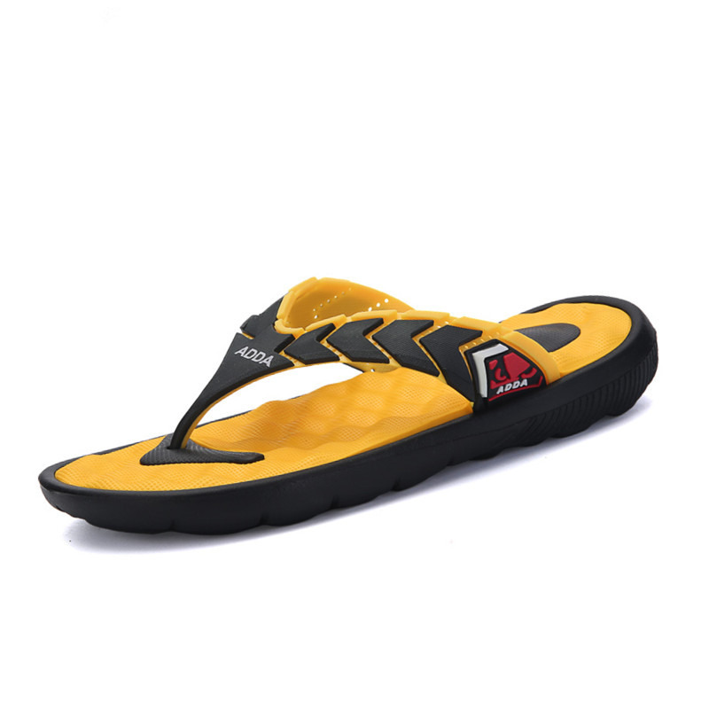 New 2016 Flat Sandals Men Brand Flip Flops Men Massage Sandals Beach Slippers For Men Summer Shoes Black Sandals BB011 hot sale(China (Mainland))