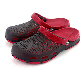 Hole Shoes 2015 New Male Garden Shoes Women's Sandals Summer Jelly Color Slippers Plus Size Cheap Clogs
