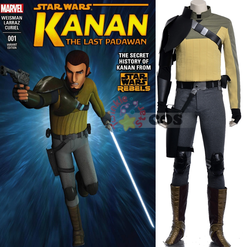 Custom Made Star Wars Rebels costume Adult Kanan Cosplay star wars Costume For Halloween Canival party men costumeОдежда и ак�е��уары<br><br><br>Aliexpress