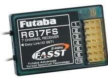 Futaba R617FS 2.4GHz FASST 7 Channel Airplane Helicopter Receiver Low Shipping boy gift