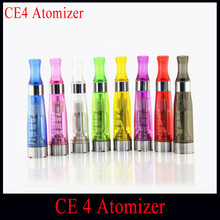 1pcs/lot CE4 Atomizer newest ce4 Cartomizer ce4 Clearomizer 1.6ml For Ecig Ego T,Ego W E-Cigarette For All Ego Series