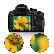Nouveau verre trempé Film protecteur d'écran LCD pour Nikon D3100 / D3200 / D3300 gros(China (Mainland))