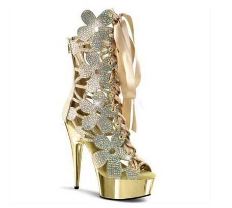 New Fashion Flowers Floral Cutouts Women Boots Platform Sandals Peep Toe High Heels Shoes Woman Back Zip Knots Summer Bootas<br><br>Aliexpress