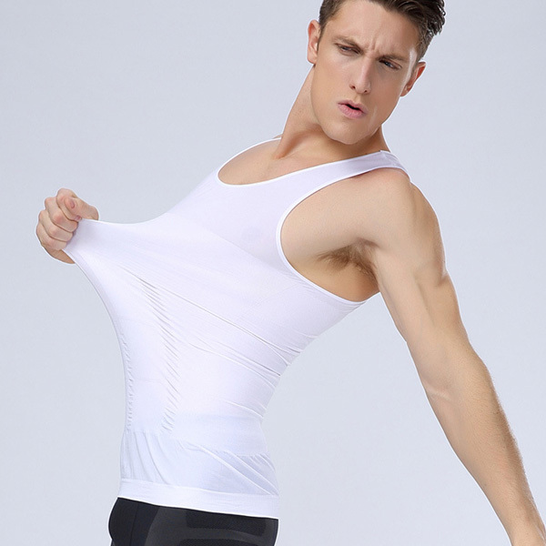 Hot Sales NEW Men Undershirt Athletic Sport Vest Training Sleeveless Gym Tank Top