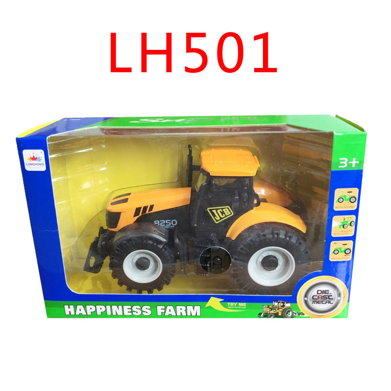 Alloy engineering car tractor toy bulldozer model farm vehicle belt boy toy car model children's Day gifts New Year gift(China (Mainland))
