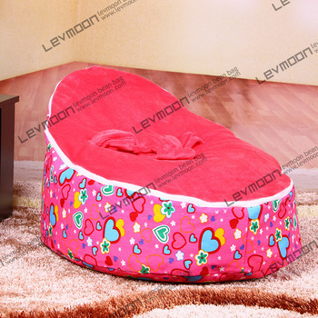 FREE SHIPPING baby bean bag with 2pcs up cover baby beanbag baby chair baby seat bean bag covers only<br><br>Aliexpress