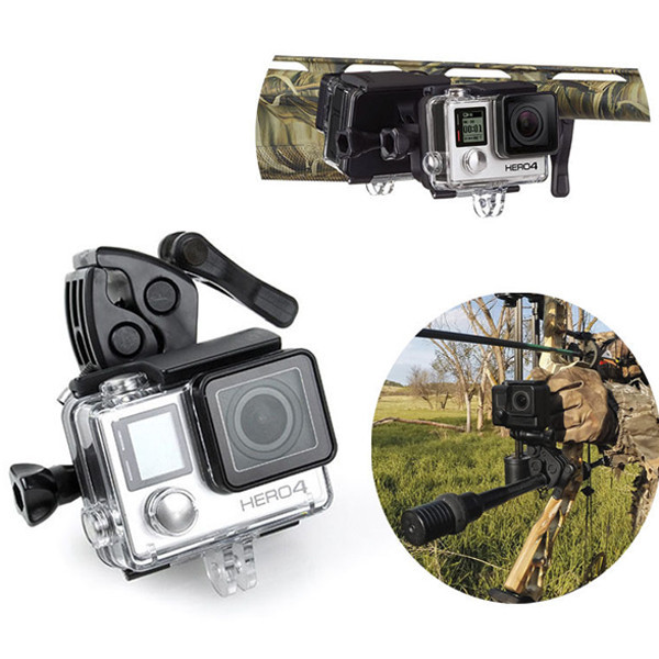 Gopro Universal Sportsman Gun / Fishing Rod / Bow / Arrow Retaining Fixed Clip