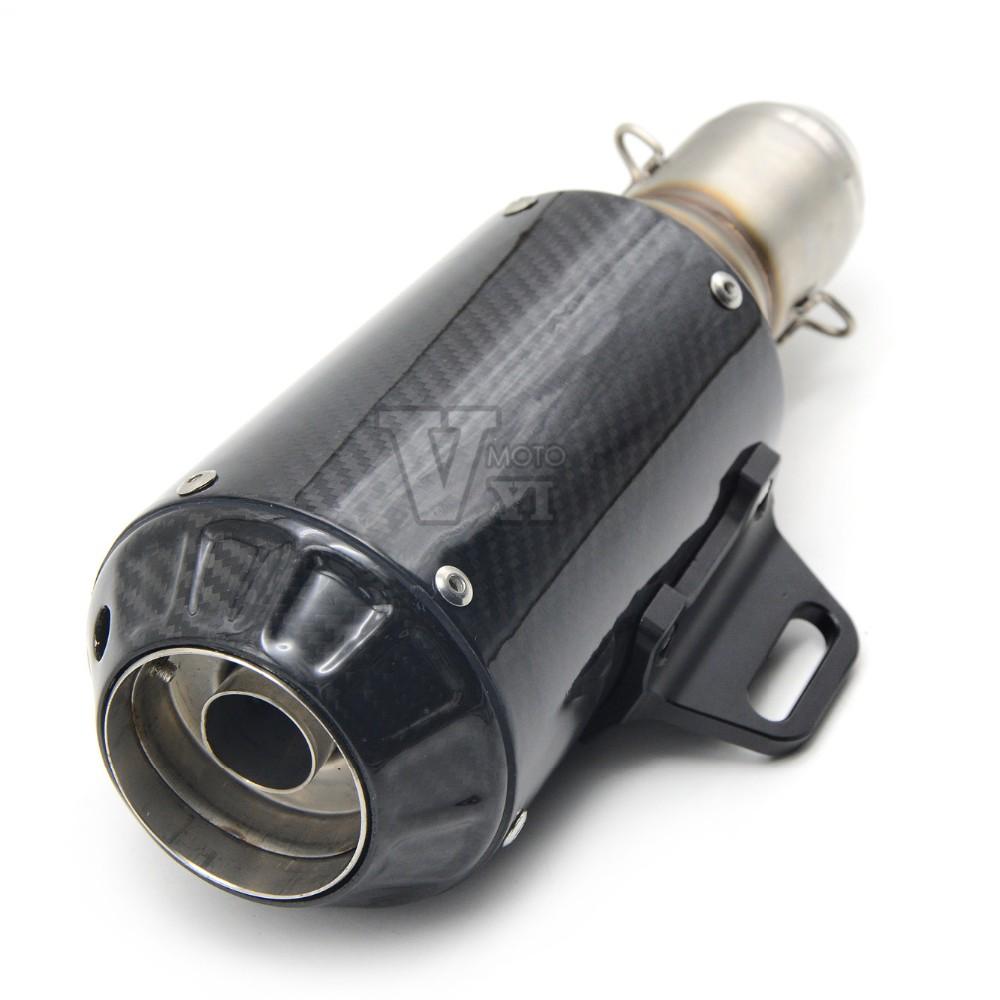Motorcycle Scooter Akrapovic escape pipe  Muffler pipe for  SUZUKI CBR1000 CBR 1000 CB 400 600 500 Z1000 z 750 GSX650 YZF R1