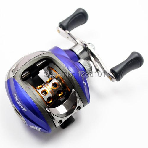 New Fishing Baitcasting Reel Bait Caster RM300R 10+1 Ball Bearings Aluminium Spool Right Hand