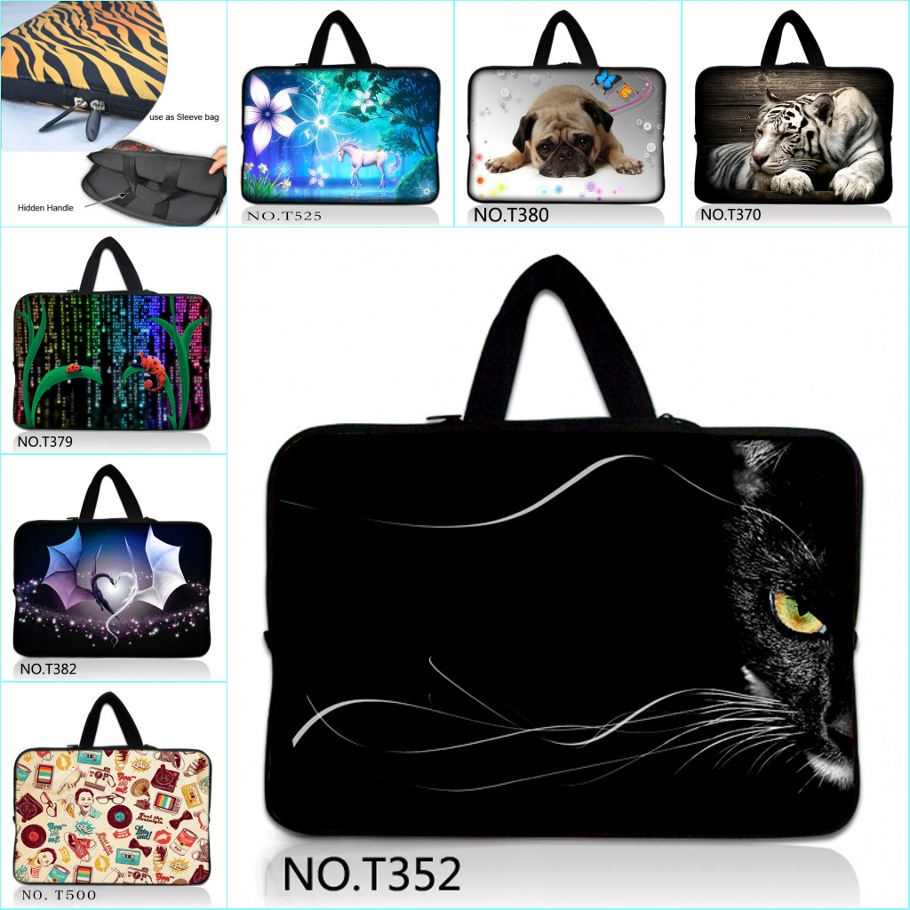 9 10 10.1 10.2 inch Laptop Tablet Notebook Carry Sleeve Case Bag Protector For ipad Tablet(China (Mainland))