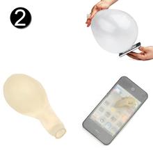 New Close-Up Magic Street Trick Mobile Balloon Penetration In Flash Close-Ups Magics Tricks Mobiles(China (Mainland))
