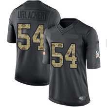 Men's #54 Brian Limited Black 2016 Salute to Service Football Jersey.jpg 100% stitched(China (Mainland))