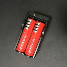 2015 New  High Buality 18650 Battery and Charger  18650 Rechargeable Li-Ion 5800mah  2×18650 Battery