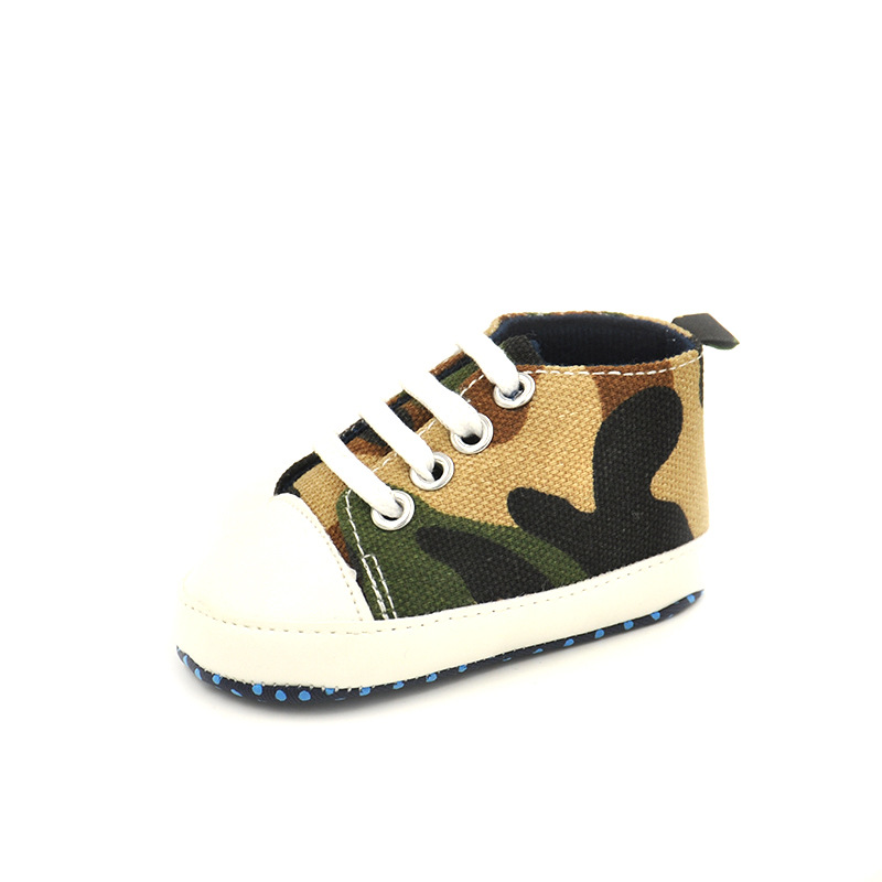 Fashion Sneakers Camo Baby Shoes Boys Infant Toddle Shoes Newborn Canvas Boys' First Walkers running shoes(China (Mainland))