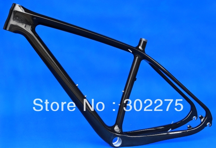 "FR-219 - Full carbon 3K Glossy mountain bike 29"" Wheel MTB 29ER BB30 Frame included headset(China (Mainland))"