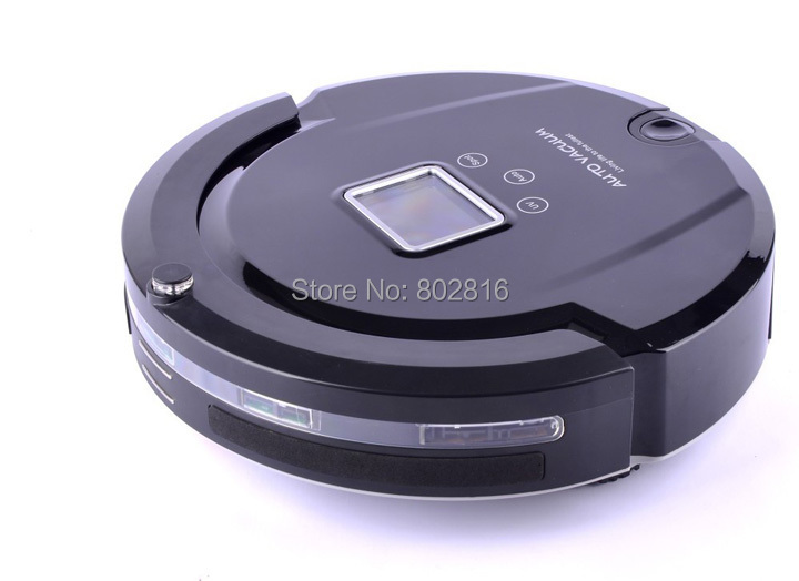 Free shipping Multifunctional Lowest Noise/Longest Working Time Intelligent Vacuum Cleaner,Auto Vacuum Cleaner(China (Mainland))