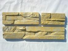 Set 6 Plastic Molds for Concrete Plaster wall stone tiles Garden Decoration(China (Mainland))