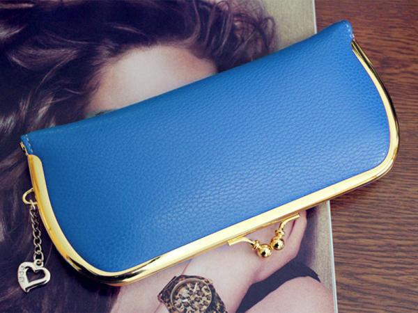 Кошелек Hot Selling Vintage Women PU Leather Wallet With Heart Pendant  CA05099/ka кошелек leather pu 2015 d108 wallet