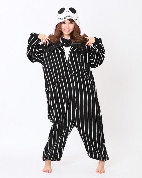 Man New Costumes Skeleton Cosplay Halloween Costumes Pajamas Unisex Adult Skull Onesies Pyjamas Sleepwear Polar fleece Jumpsuit(China (Mainland))
