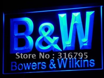 k019-b B&W Bowers & Wilkins Audio Theater LED Neon Signs