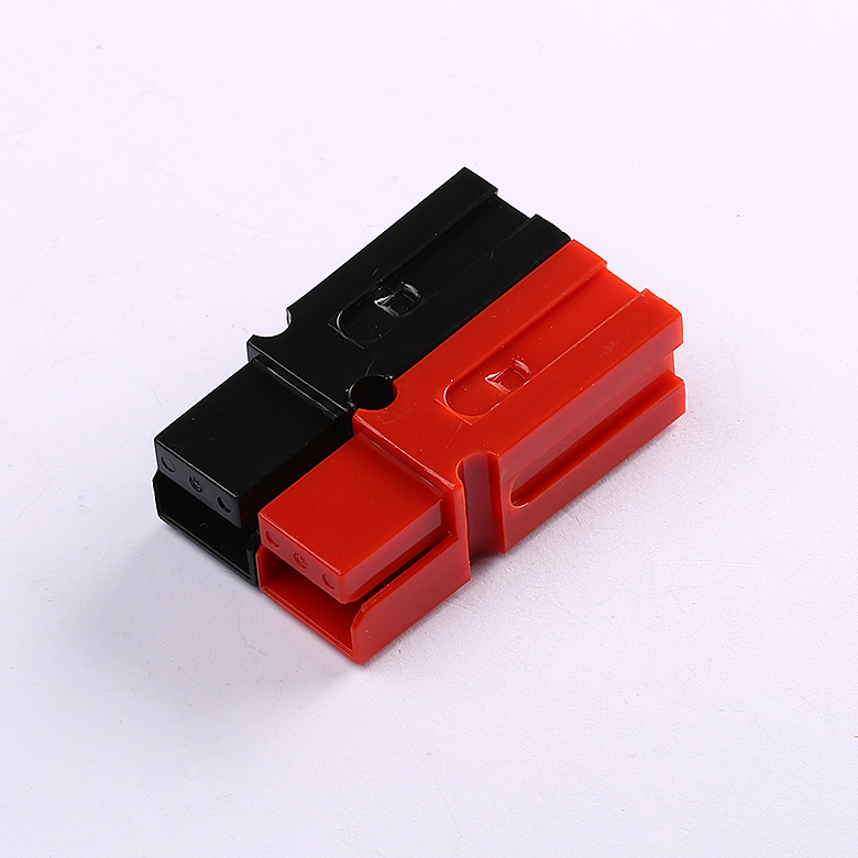 50pcs/lot 75A 600V 10&12AWG Powerpole Power Pole Kit Red Blac AC/DC Copper Connectors(China (Mainland))