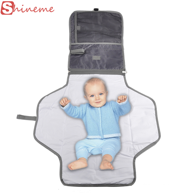 Large size portable baby changing table diaper nappy baby changing pad cover mat waterproof sheet baby care products travel(China (Mainland))