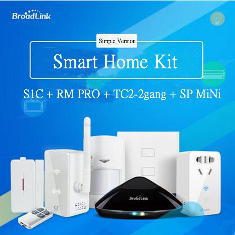 Smart home Automation Kit Broadlink S1 S1C Broadlink RM2 Rm Pro Universal Intelligent controller Smart Switch