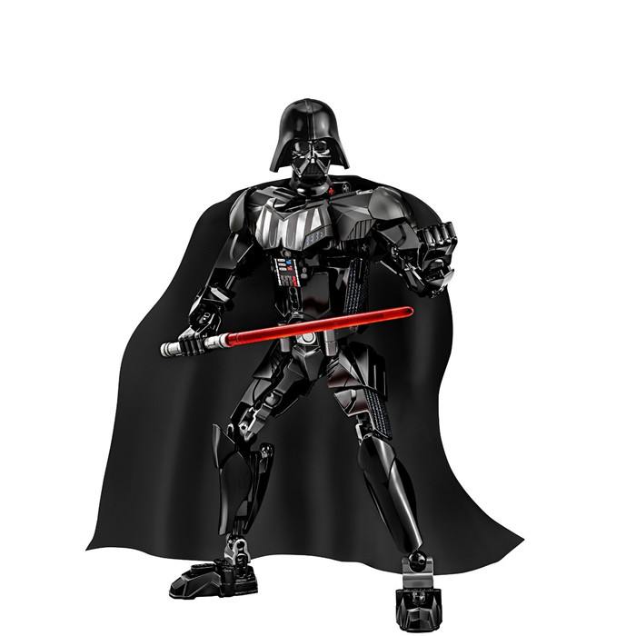 Star Wars Force Awakens Action Figure Darth Vader Building Kit Buildable bricks toys kids Compatible Lego block gift  -  Easter Toys Store store