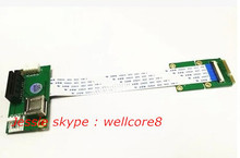 Hot Sale PCI Express 1X and USB to Mini PCI express,High Quality Mini Pci-e Adapter