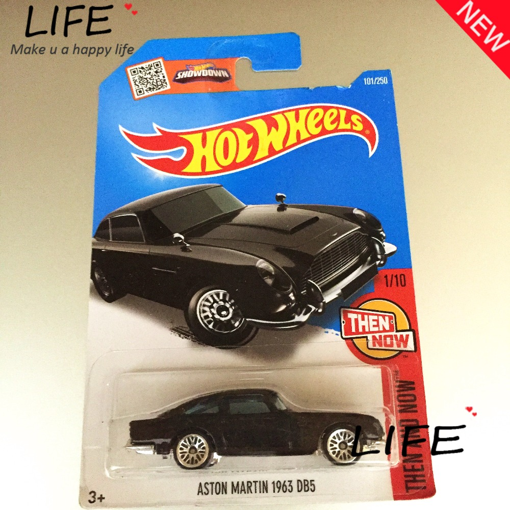 Free Shipping Hot Wheels aston martin 1963 db5 Car Models Metal Diecast Cars Collection Kids Toys Vehicle For Children Juguetes(China (Mainland))