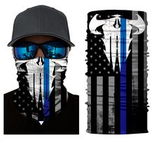 3D Design Human Face Skull Bandana High Elastic Seamless Scarves Riding Mask Bicycle Magic Sport Headband Deadpool Bandanas(China (Mainland))