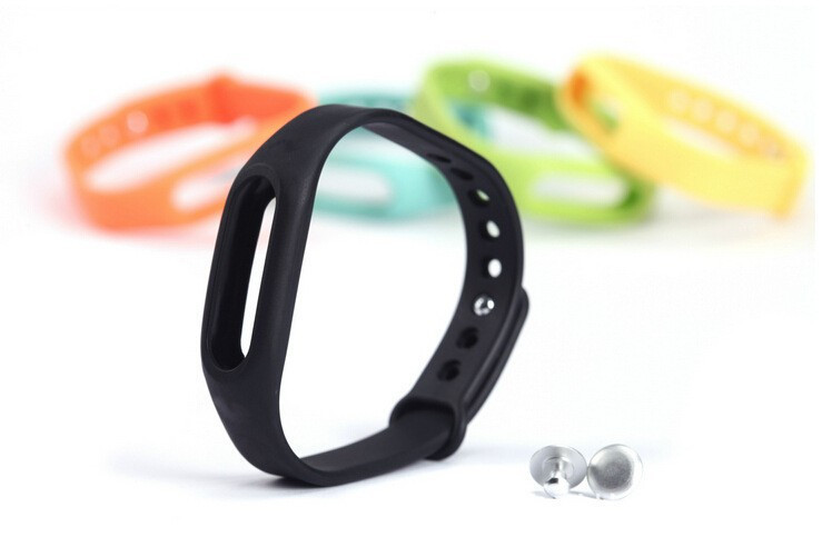 HY01 For Xiaomi Miband Smart Wristband Sillicone Replace Belt Strap Mi Band Bracelet Replacement Band Accessories