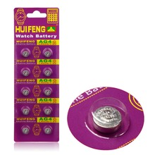 10pcs/Lot= 1pack ,AG4 377A 377 LR626 SR626SW SR66 LR66 Cell Battery Button Battery ,Watch Coin Battery, Free Shipping