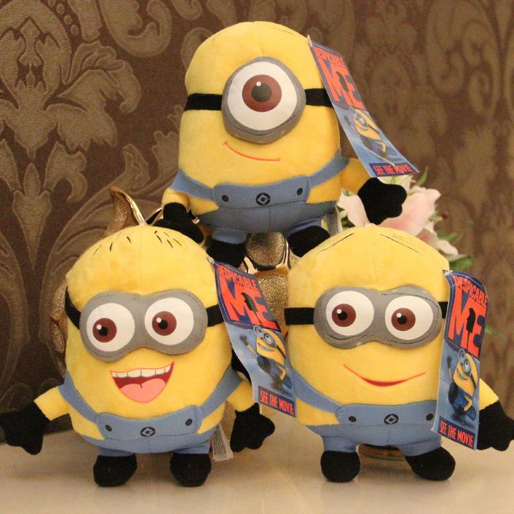 18cm Minion Kawaii Cute toys stuffed animals soft doll brinquedo pelucias minions baby kid girls Despicable Me Plush Dolls<br><br>Aliexpress