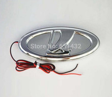Car logo 3D Lada LED emblem Badge light lamp sticker for Lada Kalina Car led 2104