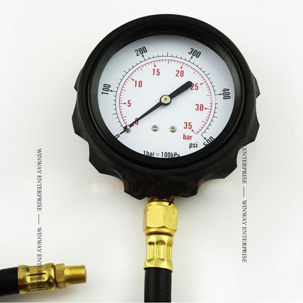 Pressure Test Gauge Test Engine Oil Pressure