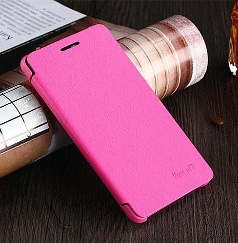 New Arrive! Luxury Classic Simple Style flip Phone cover leather case For Xiaomi Redmi 3 Hongmi 3 Original Phone Case Capa Para(China (Mainland))