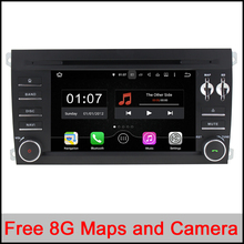 1024X600 Android 5.1.1 Quad Core A9 1.6GHz CPU 16GB Flash Car DVD Player for Porsche Cayenne 2003-2010 3G Wifi Stereo System BT(China (Mainland))