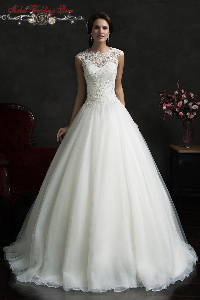 Buy louisvuigon vestidos vintage wedding for Wedding dresses discount online