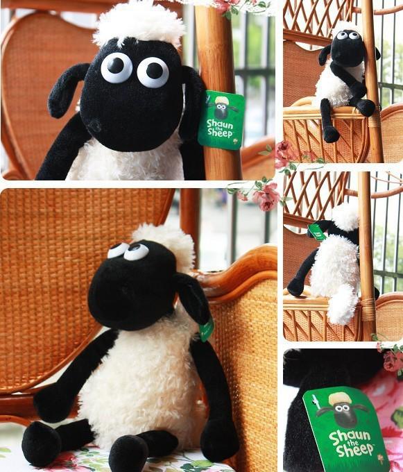 25CM Cute Shaun the Sheep Lamb plush Toy stuffed baby gift(China (Mainland))