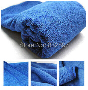 150g/m2 thin 30*70CM Microfiber car cleaning cloth wash towel products dust tools car washer auto supplies car accessories(China (Mainland))