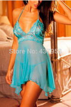 Hot Women's Sexy Lingerie Lace Dress Underwear Babydoll Sleepwear G-string