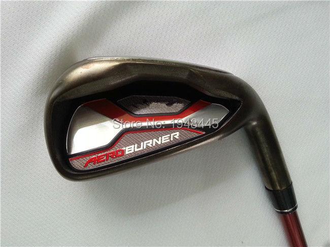 Brand New AERO Irons AERO Golf Irons OEM AERO Golf Clubs 4-9PASw Regular/Stiff Flex Graphite Shaft With Head Cover(China (Mainland))
