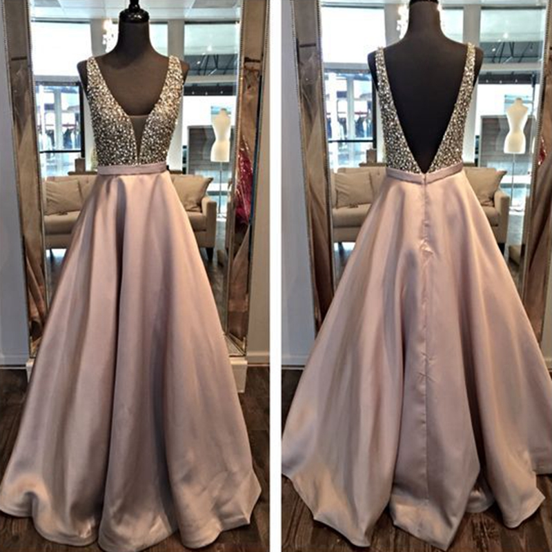 Women's Fashion Long Prom Dresses Fast Shipping 2016 Satin Beads Ombre Evening Gowns Evening Dress Plus Vestido De Festa Longo(China (Mainland))
