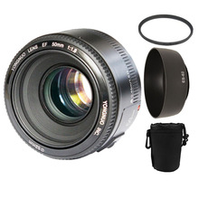 YONGNUO YN50mm f1.8 AF MF Lens YN 50mm Auto Focus lens for Canon EOS DSLR Cameras with 3 gifts(China (Mainland))