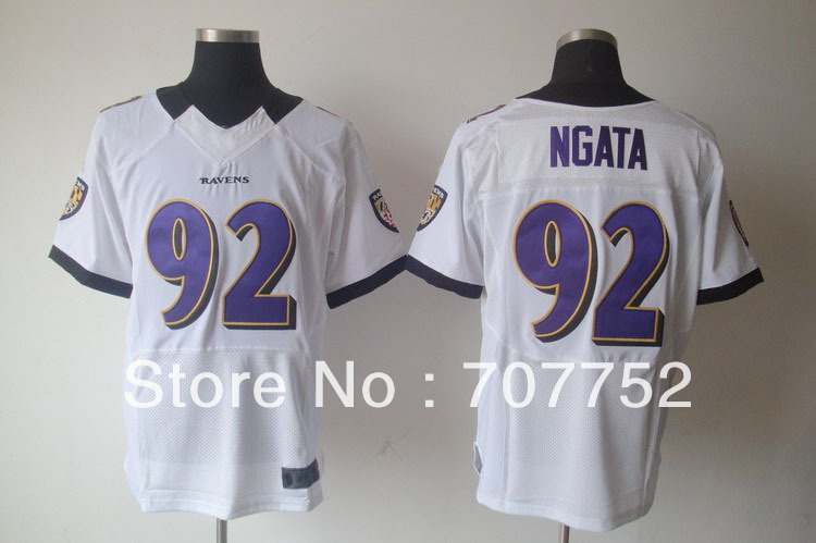 New Season New style American football Jersey 92# Ngata black white purple jerseys(China (Mainland))