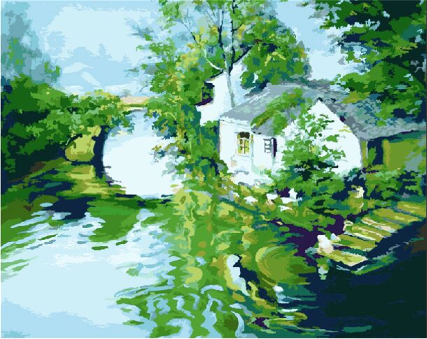 Drawing Picture Home Decoration Canvas By Numbers Fresh
