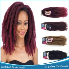 1PC 100% Kanekalon Fiber Havana Mambo Twist Synthetic 20″ 50cm 100g Marley Braid Hair Extension For African American Women