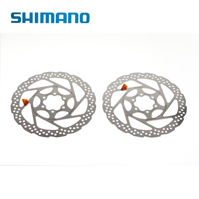 2014 New Original Shimano Stainless Steel SM-RT56 Bike Bicycle Cycling Disc Brake Rotor 160mm 2pcs + 12 Bolts(China (Mainland))